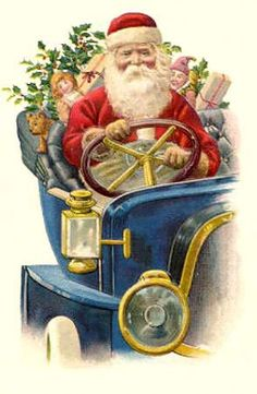 antique/ vintage Christmas post card / image collection printable