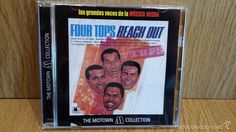 FOUR TOPS. REACH OUT. CD / 12 TEMAS / THE MOTOWN COLLECTION / LUJO.