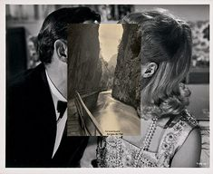 Face off: John Stezaker and John Baldessari show how to create audience engagement John Baldessari, John Stezaker, Photomontage, Collage Foto, Face Collage, Collage Collage, Collage Portrait, Photo Libre, The Uncanny