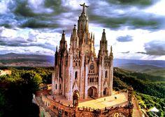 Достопримечательности Испании - гора Тибидабо