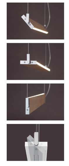 Lampara colgante Manolo LED 20w madera natural de Ole
