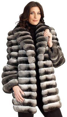 Ivanka Trump Chinchilla Fur Coat | Silky and soft chinchilla fur coat. | fur coat | Pinterest