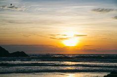 Amanhecer na praia mole em Florianpólis. Foto Laiz Alionço
