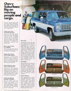 1975 Chevy Suburban interior
