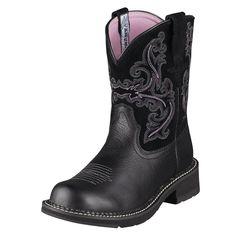 Ariat Black Fatbaby II Cowboy Boots|