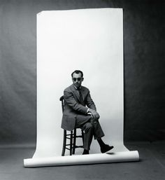 Jean-Luc Godard in Berlin, Germany, circa 1961. Photograph by F.C. Gundlach.