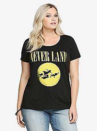 TORRID.COM - Disney Never Land Tee
