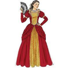 McCall's Misses', Children's and Girls' Costumes, Miss (S, M, L) - Walmart.com