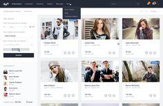 56 examples of content-stream layout – Muzli -Design Inspiration Design System, App Design, Flat Design, Ui Website, Card Ui, Modern Website, Dashboard Ui, Web Project, Application Design