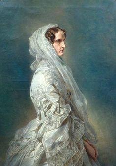 Empress Alexandra Feodorovna, wife of Tsar Nicholas I of Russia. Born Charlotte of Prussia.