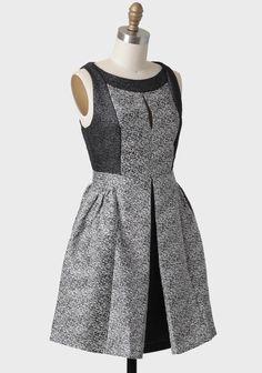Winter's Eve Jaquard Dress By Aryn K | Modern Vintage New Arrivals