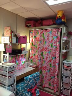 Lilly Pulitzer Shower Curtain For The Closet