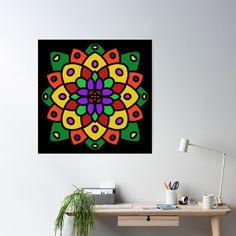 """Flower of Life Mandala"" Poster by Pultzar   Redbubble"