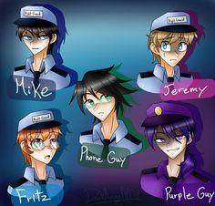 Freddy S, Animatronic Fnaf, Fnaf Security Guards, Fnaf Night Guards, Fnaf Baby, William Afton, Creepypasta Characters, Fnaf Drawings, Anime Fnaf