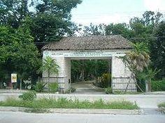 Entrada del Jardín Botánico
