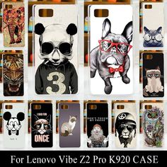For Lenovo Vibe Z2 Pro K920 Case Cover Hard Plastic Mobile Phone Cover DIY Color Paint Painting Cellphone Bag Shell cases