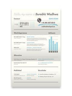 Resume designs that can get you hired - image 3 - Surabhi Wadhwa