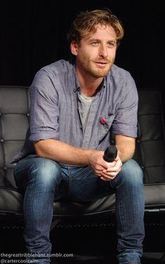Dean O'Gorman at Oz Comic Con Adelaide, April 6th 2014.