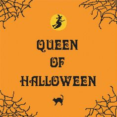 Cross Stitch Pattern PDF  Queen of Halloween by Abracraftdabra