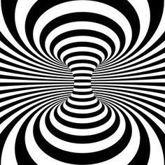 Optical Illusion Background.