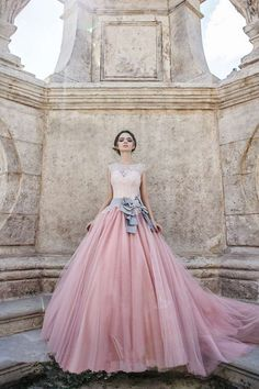 Cheap pink wedding dress, Buy Quality wedding dress directly from China lace pink wedding dresses Suppliers: Vestido de Noiva Lace Up Tulle 2017 Vintage Lace Pink Wedding Dress with Beading New Long Train Ball Gown Wedding Dresses Wedding Dress Pink, Lace Ball Gowns, Ball Dresses, Prom Dresses, Bridesmaid Dresses, Dresses 2016, Bridal Gowns, Wedding Gowns, Tulle Wedding