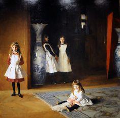 John Singer Sargent, The Daughters of Edward Darley Boit by renzodionigi, via Flickr