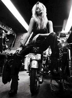 Photo of women and motobikes