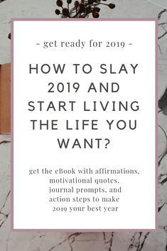 Job & Work Motivation quote Get ready for an epic 2019 The quote Description get ready for 2019 // how to design your ideal life? Self Development, Personal Development, Detox Kur, Work Motivation, How To Pose, Work Quotes, Monday Quotes, Journal Prompts, Stress Management