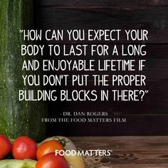 Build your empire with the right materials! www.foodmatters.com #foodmatters #FMquotes #quotes
