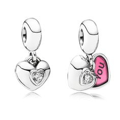 perfect Valentine gift You & Me charm is a beautiful 2 piece sterling silver heart dangle featuring the words You and Me .Pandora MOA - You http://www.pandoramoa.com/valentines-2014-introductions/?sort=featured&page=2