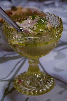 Valkosipulisilakat sitruunaöljyssä ©Hanna Stolt | Gurmee.net Punch Bowls, Net