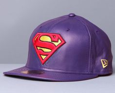purple superman | Fashion: Hat Junkies - New Caps & Fitted Hats