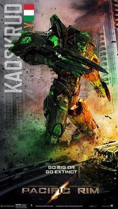Pacific Rim on Pinterest | Godzilla, Minimal Movie Posters and ...