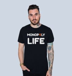 Special Design Zed Monopoly Trading Family front and back check out the Bio link Monopoly, Twitter, Link, Check, Mens Tops, T Shirt, Photos, Design, Fashion