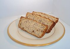 This recipe for low-carb banana bread is sugar-free and gluten-free, and many people have told me it tastes even better than regular banana bread.