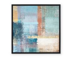 Composition, Art Abstrait, Painting, Color Blue, Impressionism, Living Room, Painting Art, Paintings, Being A Writer