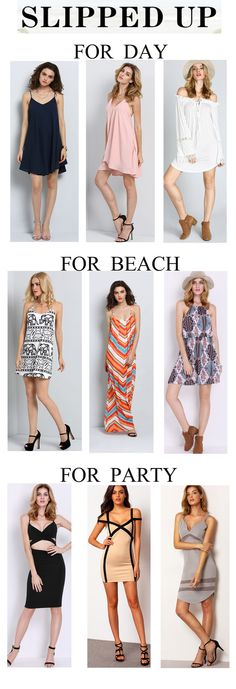 I find some strap dresses for you girls. Whatever for day dress, party dress or occasion dress, you can find the suitable dress here. Come to find more.