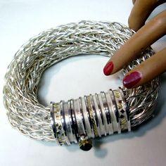 Roman Chain Bracelet by Mary Ann Scherr