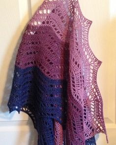 This gorgeous version of the Heuvel en Dal stole was made by my wonderful tester StarStrong. She combined purples and blues in her version. Go check it out! http://www.ravelry.com/projects/StarStrong/heuvel-en-dal  #crochet #lavischdesigns #haken #crocheting #crochetaddict #crochetlove #yarn #yarnaddict #craftastherapy #yarnlove #crochetlover #ilovecrochet #indiedesigner
