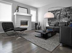 dark grey flooring living room decor blue and 116 best gray hardwood floors images smoky essential hard maple tradition lauzon