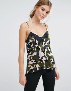 Get this Moss Copenhagen's long t-shirt now! Click for more details. Worldwide shipping. Moss Copenhagen Cami Top In Camo With Lace Trim - Multi: Top by Moss Copenhagen, Lightweight woven fabric, V-neck with lace trim, All-over print, Relaxed fit, Machine wash, 100% Viscose, Our model wears a UK S/EU S/US XS. Born in the Danish capital, Moss Copenhagen takes understated cool to new levels. Think chill vibes and fresh designs in silky fabrics for Scandi-style perfection. Throw on its…