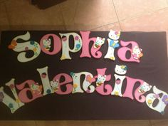 letters girl room @creativelis