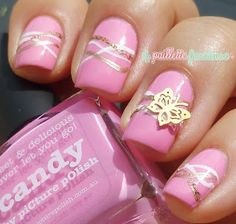 This is actually gorgeous. But, it could use a slightly hot pink color
