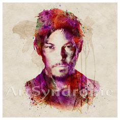 Norman Reedus aka Daryl Dixon from The Walking Dead for Instant Download or Digital Print if you prefer on Etsy, £6.11