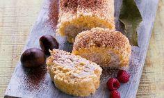 Experimente usar as castanhas usá-las para fazer uma torta de castanhas com cacau, chantilly e framboesas. Vai ver que nunca provou uma torta assim.