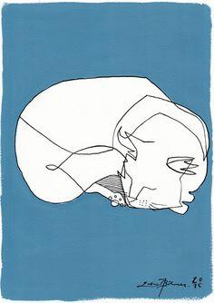 'Sleep Well' - Acrylic painting by Gabriel Böhmer. °