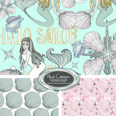Kristi Caterson | The Ultimate Portfolio Builder | September 2015 class | Student Pattern Design Showcase | The Art and Business of Surface Pattern Design | Make it in Design | www.makeitindesign.com