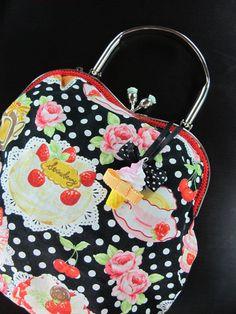 Adorable bag with Polka Dot