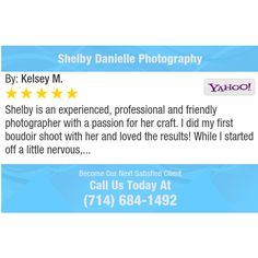 Shelby is an experienced, professional and friendly photographer with a passion for her...
