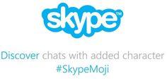 Ver Skype lanza nuevos Mojis y emoticonos a su servicio